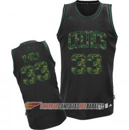 Camiseta de la Bird #33 Boston Celtics Camuflaje Moda