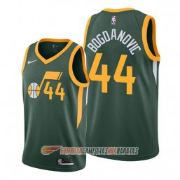 Camiseta de la Bojan Bogdanovic #44 Utah Jazz Earned Verde