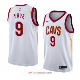 Camiseta de la Channing Frye #9 Cleveland Cavaliers Association 2018 Blanco
